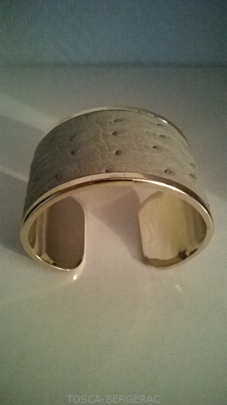 Bracelet Autruche