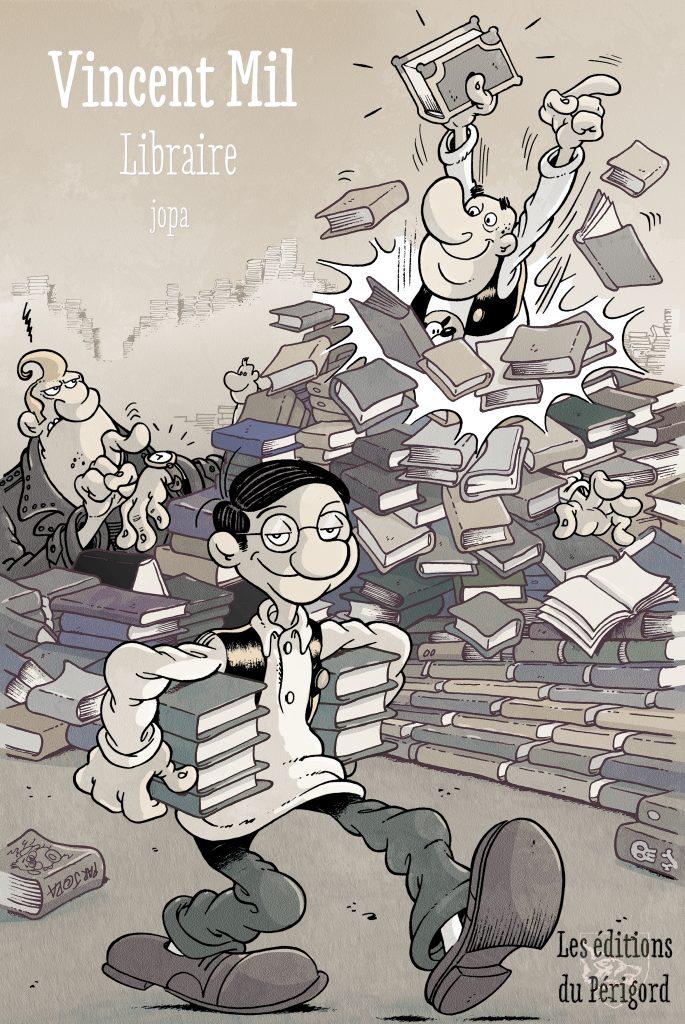 Vincent Mil, la vie de libraire